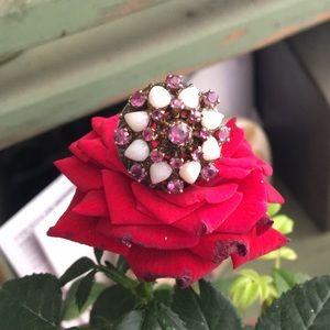 Vintage Ruby 14k Unique Ring ♥️😍